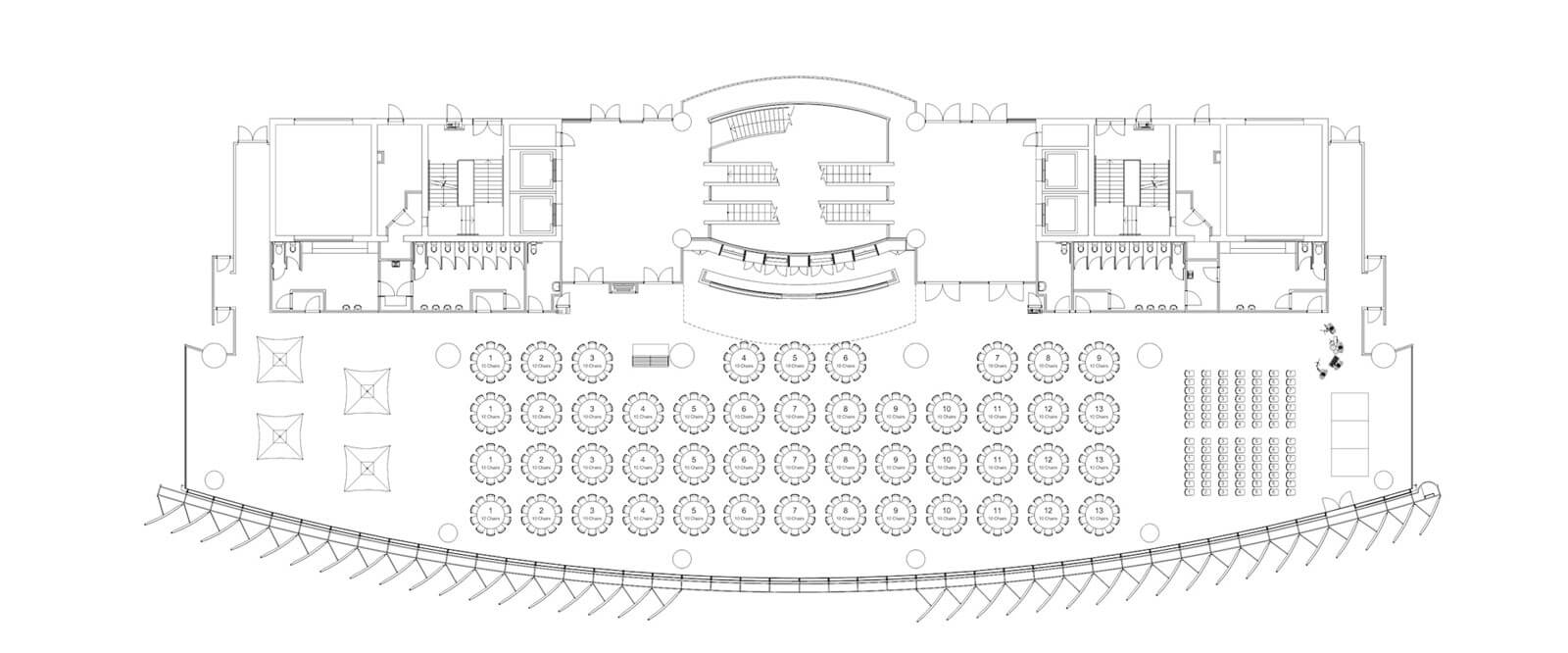 ANZ Stadium Event floor plan